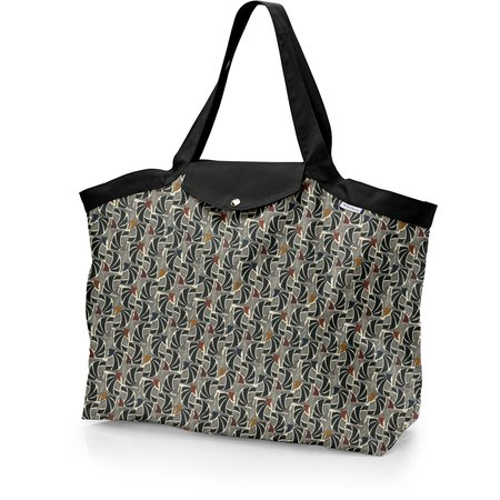 Tote bag with a zip mosaïka