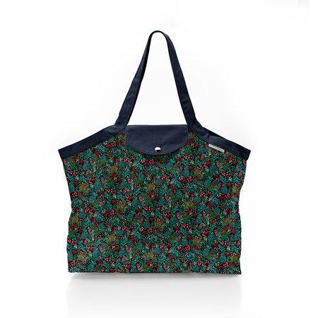 Pleated tote bag - Medium size deer