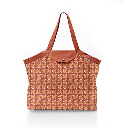 Pleated tote bag - Medium size géotigre