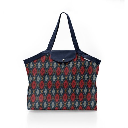 Pleated tote bag - Medium size wax