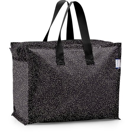 Storage bag noir pailleté