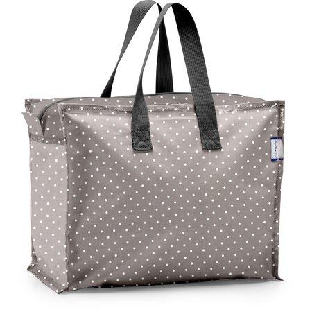 Storage bag light grey spots