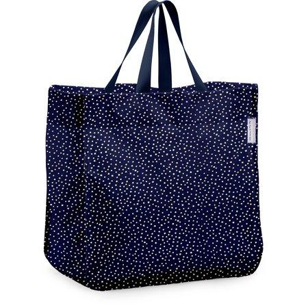 Shopping bag etoile or marine