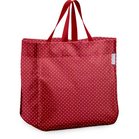 Shopping bag red spots