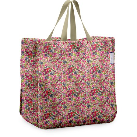 Shopping bag purple meadow
