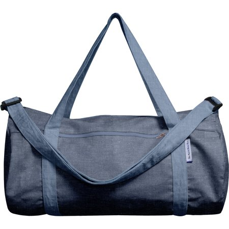 Duffle bag light denim