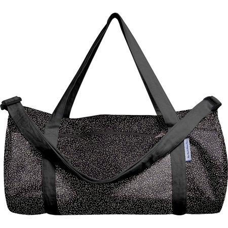 Duffle bag noir pailleté