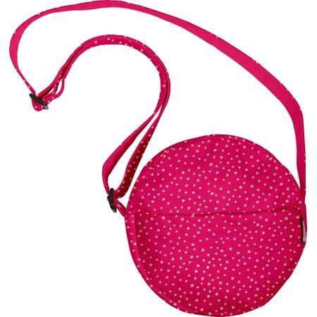 Round bag etoile or fuchsia