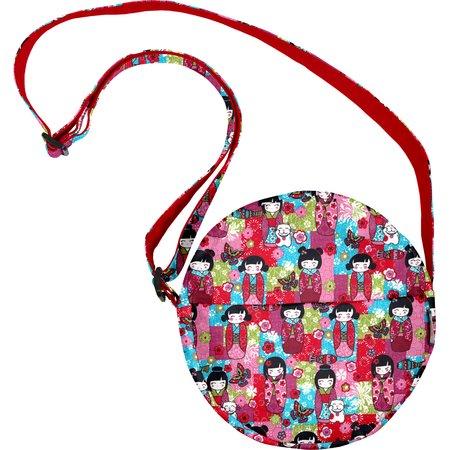 Round bag kokeshis