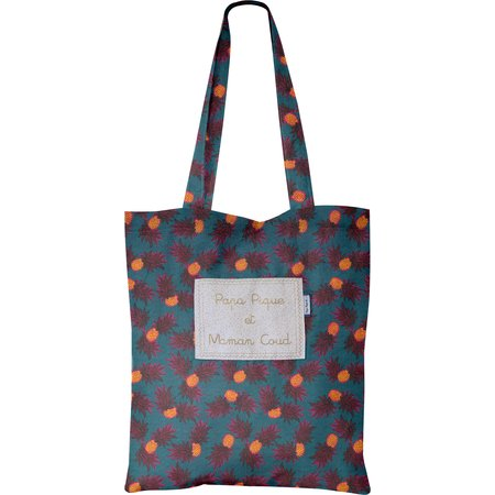 Tote bag pineapple party