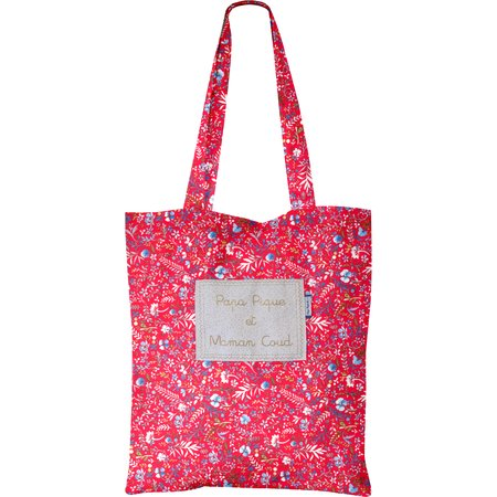 Sac tote bag bleuets cherry