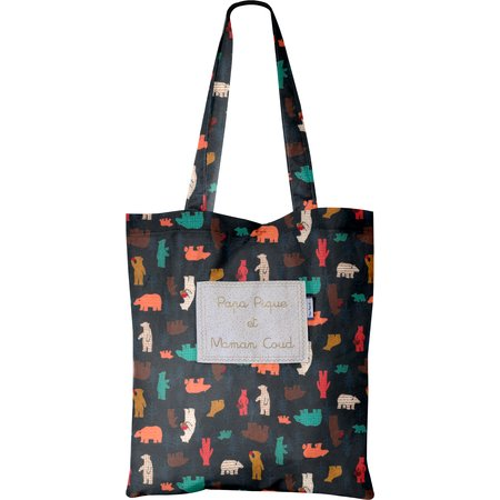 Tote bag grizzly