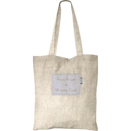Sac tote bag  lin pailleté