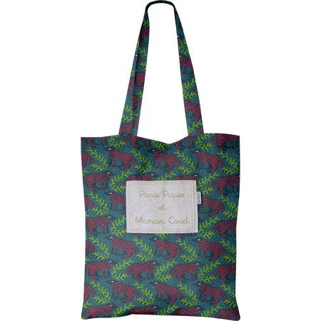 Tote bag wolf of the woods