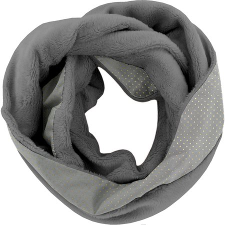 Snood polar talla única étoile or gris