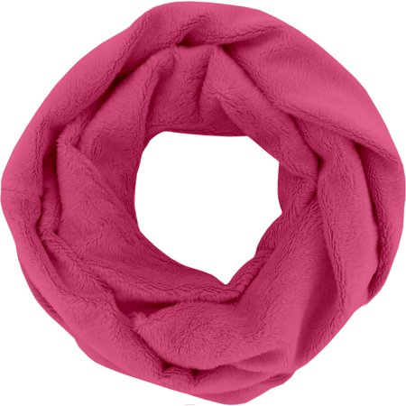 Fleece snood one-size fuschia