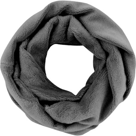 Fleece snood one-size grey