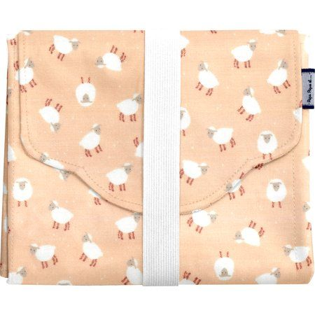 Changing pad pink sheep