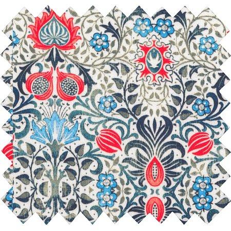 Cotton fabric azulejos