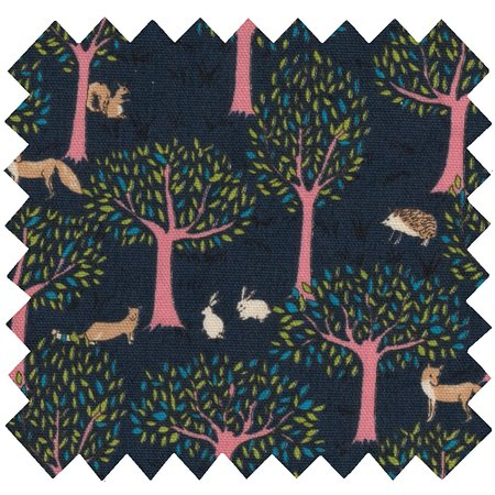 Cotton fabric autumn tale