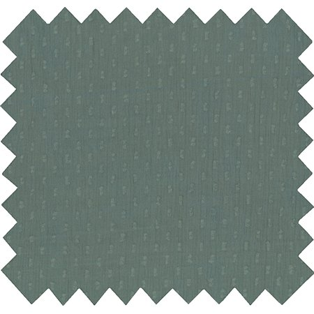Cotton fabric green gauze