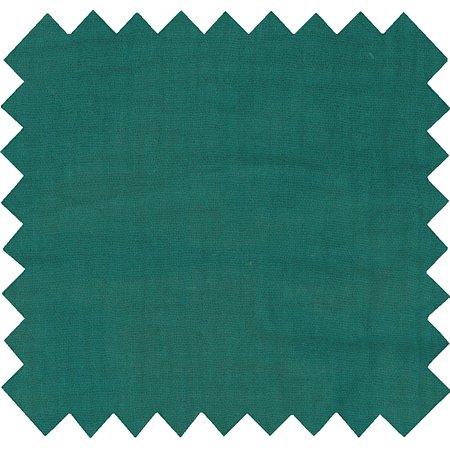 Cotton fabric blue green gauze
