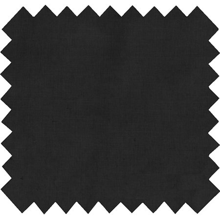 Cotton fabric black