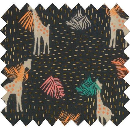 Cotton fabric palma girafe