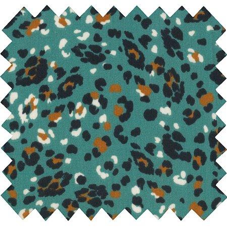 Cotton fabric jade panther