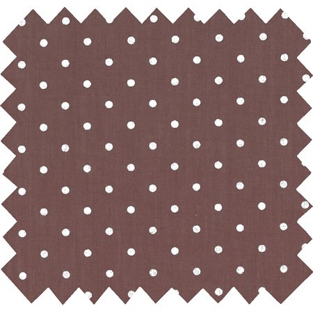 Cotton fabric brown spots