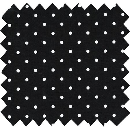 Cotton fabric black spots