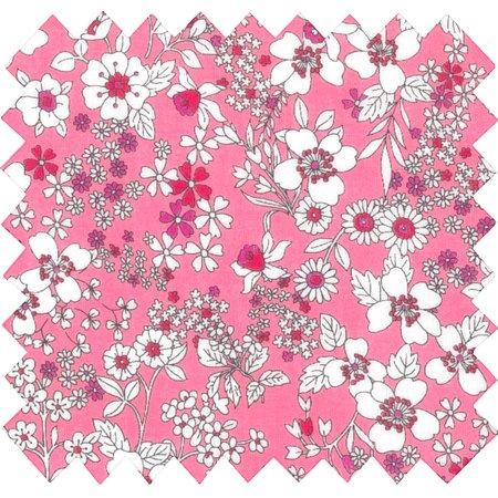 Cotton fabric pink violette
