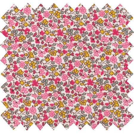 Tissu enduit jasmin rose