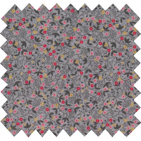 Tissu enduit liane fleurie