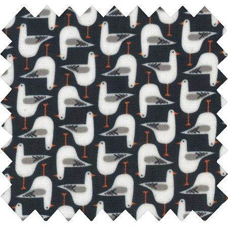 Coated fabric black-headed gulls