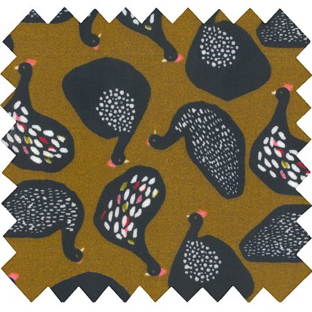 Coated fabric hen facet