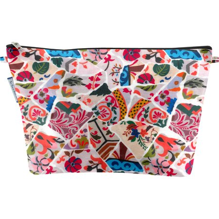 Cosmetic bag with flap barcelona