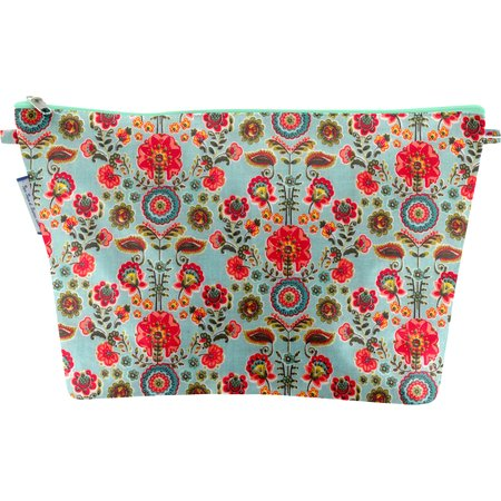 Cosmetic bag with flap  corolla