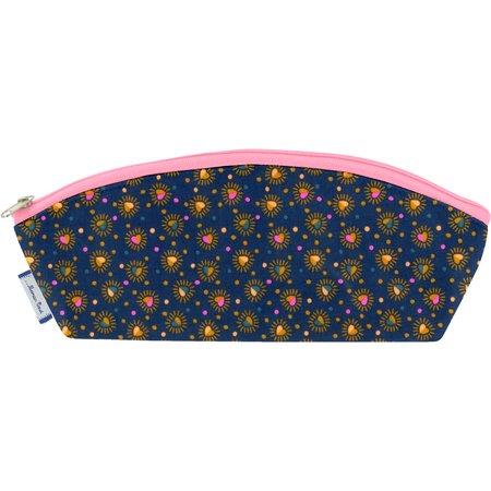 Pencil case glittering heart