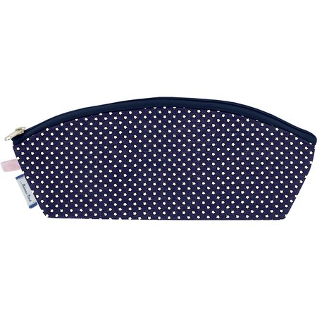 Pencil case navy gold star