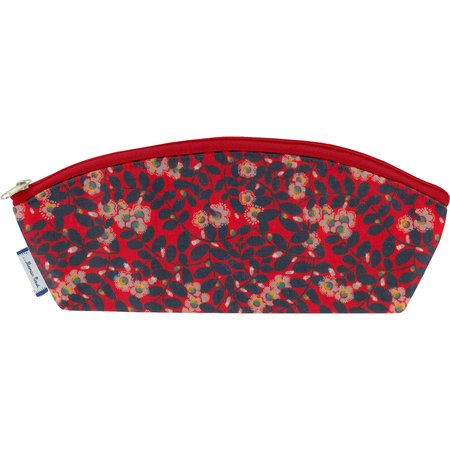Pencil case vermilion foliage