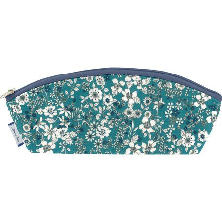 Pencil case celadon violette