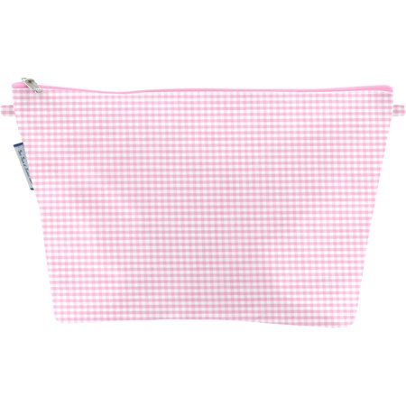 Trousse de toilette vichy rose