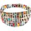 Headscarf headband- Adult size 1001 doors - PPMC