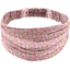 Headscarf headband- Adult size pink jasmine - PPMC