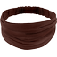 Headscarf headband- Adult size brown - PPMC