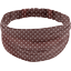 Headscarf headband- Adult size brown spots - PPMC