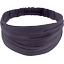 Headscarf headband- Adult size plum - PPMC