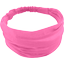 Headscarf headband- Baby size pink - light cotton canvas - PPMC