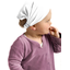 Headscarf headband- Baby size white
